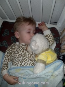 Nasz aniołek- gdy śpi