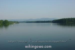 Dolni Domaslavice - widok z zapory