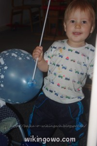 Balony z roczku dalej się trzymają